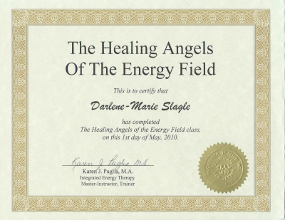 healing angles of the energy field